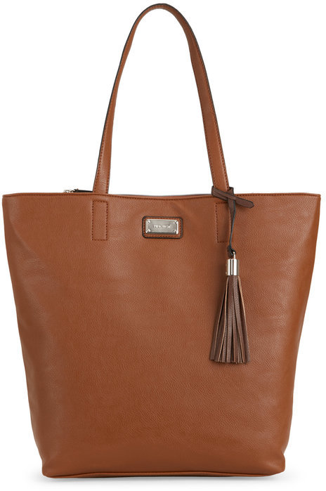 nine west Bourbon Tasseled Tote