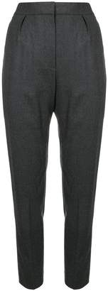 Theory high rise tapered trousers