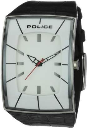 Police Men's PL-12172JS/01A Vantage White Dial Watch