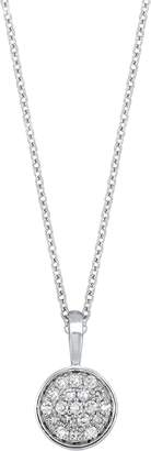 Carriere JEWELRY Diamond Pave Disc Pendant
