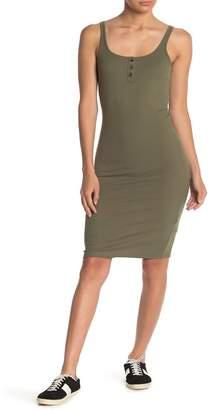 Cotton On Kaylee Body Con Ribbed Knit Tank Dress