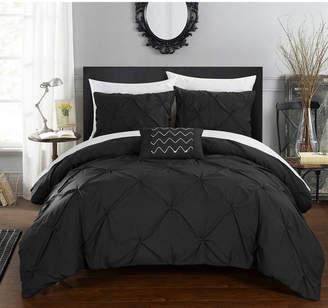 Chic Home Daya 4 Pc King Duvet Cover Set Bedding
