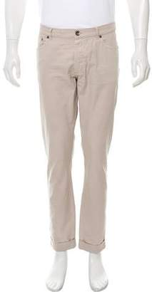 Brunello Cucinelli Cropped Slim Pants