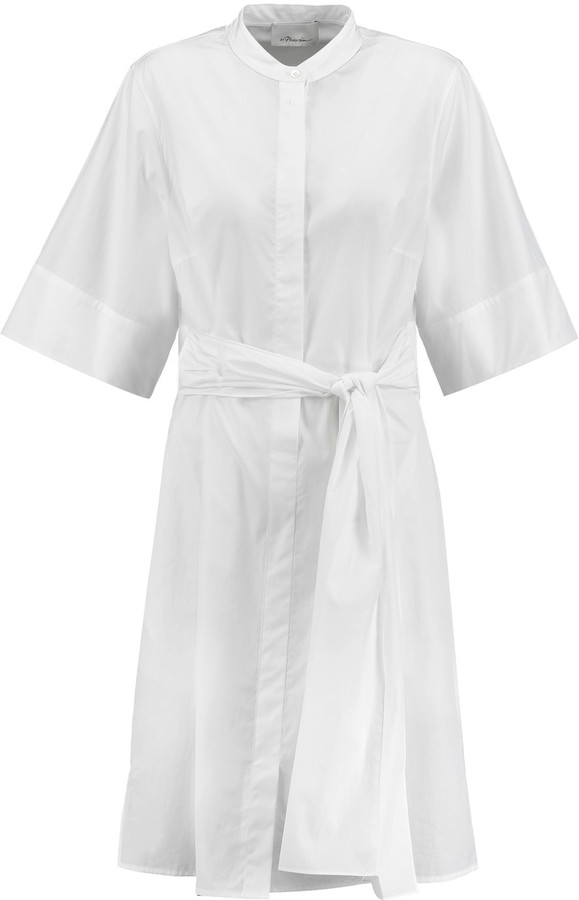 3.1 Phillip Lim 3.1 Phillip Lim Belted cotton-poplin shirt dress