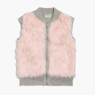 J.Crew Girl's faux-fur vest