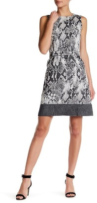 BOSS HUGO BOSS Crew Neck Sleeveless Dress $745 thestylecure.com