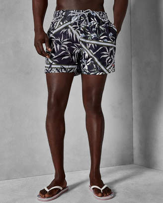 Ted Baker PLECOE Floral printed swim shorts