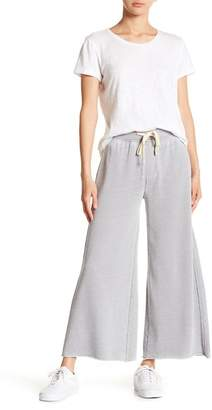 Alternative Raw Hem Wide Leg Lounge Pants