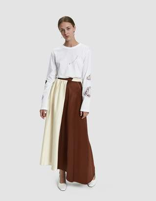 Walk Of Shame Double Colored Skirt