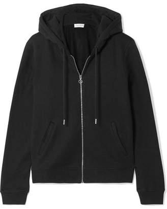 Ninety Percent - Paris Organic Cotton-jersey Hoodie - Black