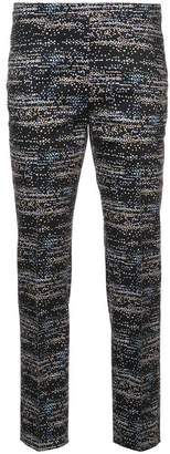 Akris Punto patterned cropped trousers