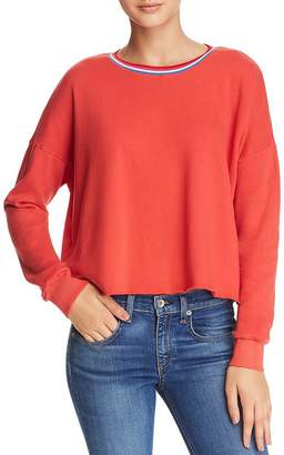 LnA Lore Raw-Edge Sweatshirt