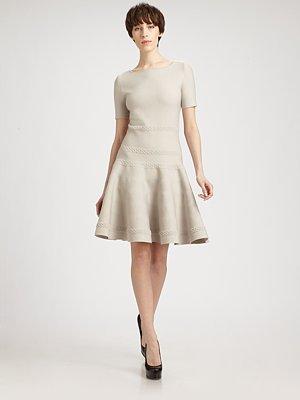 Yves Saint Laurent Wool Knit Dress