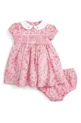 Infant Girl's Little Me Floral Print Dress $66 thestylecure.com