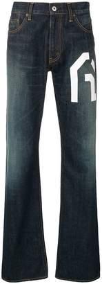 Junya Watanabe straight cut jeans