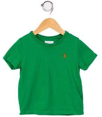 Ralph Lauren Infant Boss' Short Sleeve Crew Neck T-Shirt