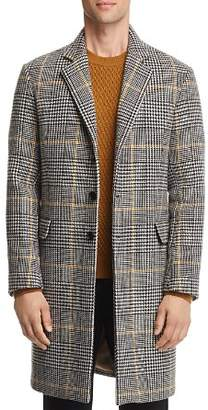 Sandro Houndstooth-Plaid Overcoat - 100% Exclusive
