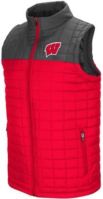 Men's Wisconsin Badgers Amplitude Puffer Vest