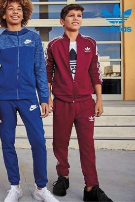 Next adidas Originals Burgundy Superstar Track Top