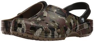 Crocs - Classic Camo Clog Clog/Mule Shoes $35 thestylecure.com