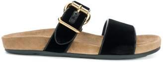 Prada double strap slides
