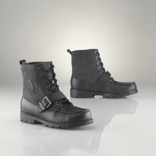 Junior Ranger High Herringbone Boot