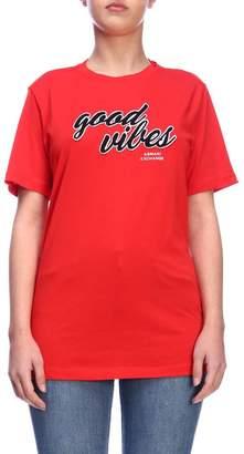 Armani Collezioni (アルマーニ コレッツォーニ) - Armani Collezioni Armani Exchange T-shirt T-shirt Women Armani Exchange