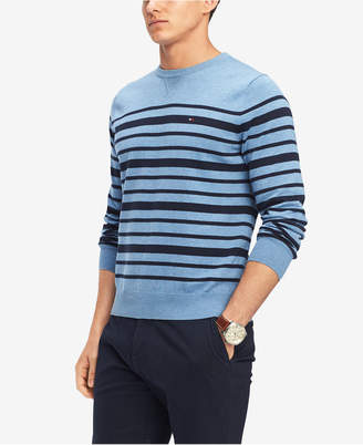 Tommy Hilfiger Men's Signature Eastport Striped Sweater
