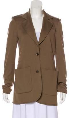 Halston Wool Structured Blazer