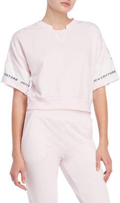 Juicy Couture Logo Tape French Terry Top