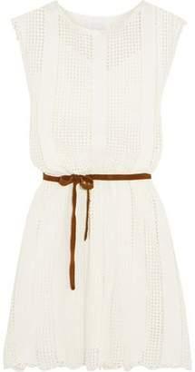 Zimmermann Caravan Crocheted Cotton-Blend Dress