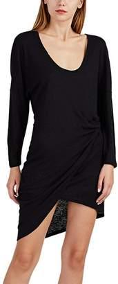 IRO Women's Clarane Slub-Knit Surplice Dress