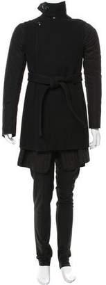 Rick Owens Moody Wool Down Coat