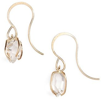 Women's Melissa Joy Manning Herkimer Diamond Drop Earrings $400 thestylecure.com