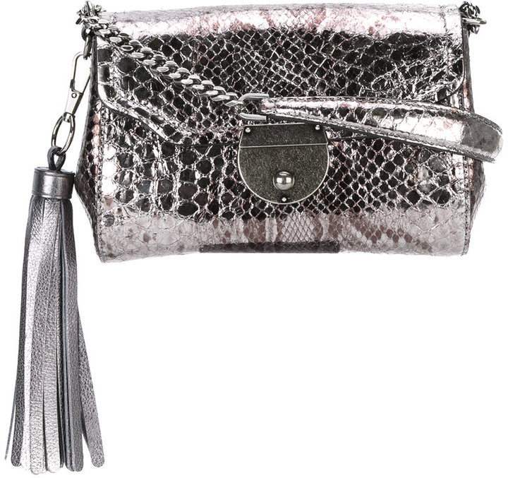 Marc Jacobs Marc Jacobs python effect shoulder bag