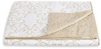 Martha Stewart Chateau Neutral Embroidered Quilt