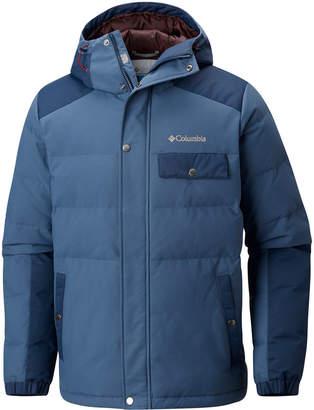 Columbia Men Challenger Water-Resistant Insulated Hooded Jacket