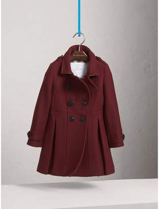 Burberry Technical Wool Cashmere Double-Breasted Coat