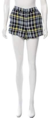 Joie Linen Plaid Shorts w/ Tags