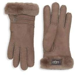 UGG Suede & Shearling Gloves