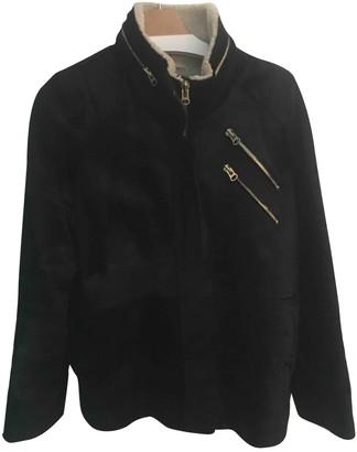 Heimstone Black Faux fur Coat for Women