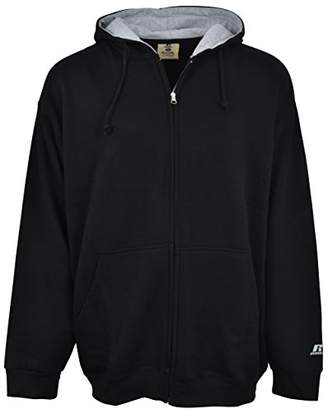 Russell Athletic Men's Big & Tall Fleece Zip-Front Hoodie