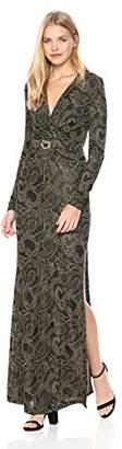 Just Cavalli Womens Belted Dress