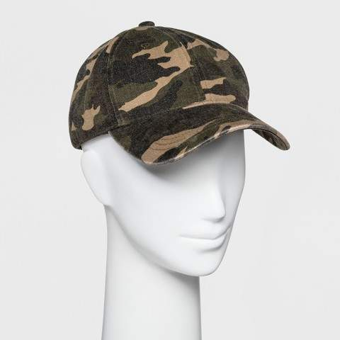 Wild Fable Women's Base Hat - Wild Fable Camo