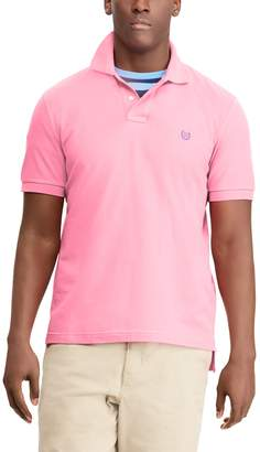 Chaps Big & Tall Easy Care Solid Polo Shirt