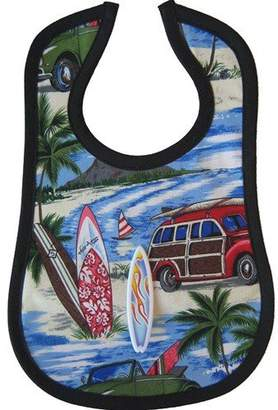 Mini Maniacs - Surf's Up Novelty Bib with Toy Surf