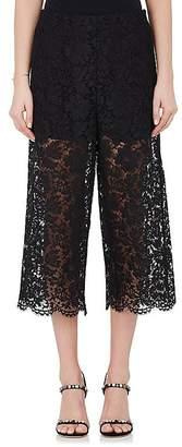 Valentino Women's Cotton-Blend Guipure Lace Culottes