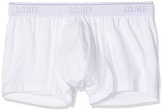 S'Oliver Men's 26.899.97.4243 Boxer Shorts, (3X White 12B7), (Size: 8)