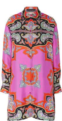 Etro Cumbria Silk Tunic Shirt