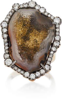 Kimberly McDonald 18K Gold Geode Diamond Ring
